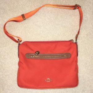 Adjustable Coach Shoulder/Crossbody Bag
